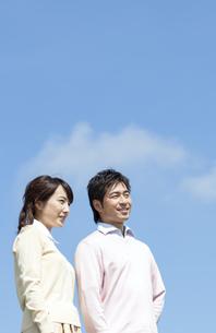 笑顔の夫婦の写真素材 [FYI04778143]