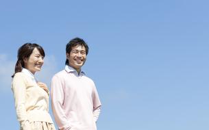 笑顔の夫婦の写真素材 [FYI04778145]
