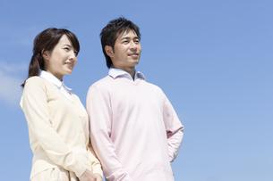 笑顔の夫婦の写真素材 [FYI04778147]