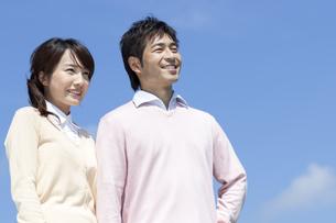 笑顔の夫婦の写真素材 [FYI04778148]