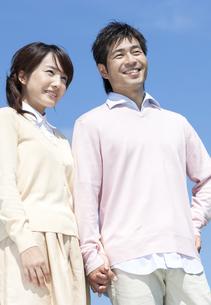 笑顔の夫婦の写真素材 [FYI04778149]