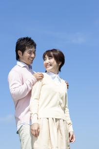 笑顔の夫婦の写真素材 [FYI04778155]