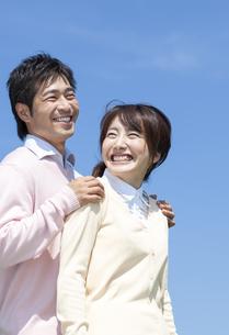 笑顔の夫婦の写真素材 [FYI04778156]
