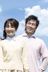 笑顔の夫婦の写真素材 [FYI04778270]