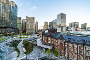 東京駅の写真素材 [FYI04778466]