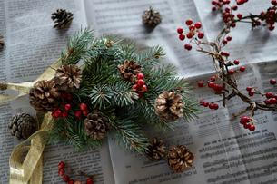 クリスマスオーナメントの写真素材 [FYI04778518]