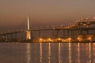 博多港夕景の写真素材 [FYI04778667]