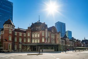 東京駅丸の内駅舎の写真素材 [FYI04778802]