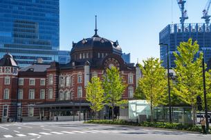 東京駅丸の内駅舎の写真素材 [FYI04778808]