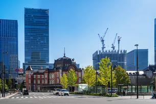 東京駅丸の内駅舎の写真素材 [FYI04778812]