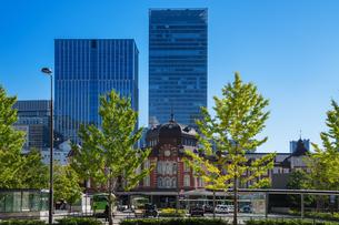 東京駅丸の内駅舎の写真素材 [FYI04778813]