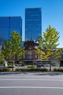 東京駅丸の内駅舎の写真素材 [FYI04778815]