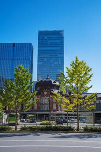 東京駅丸の内駅舎の写真素材 [FYI04778816]
