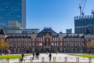 東京駅丸の内駅舎の写真素材 [FYI04778819]