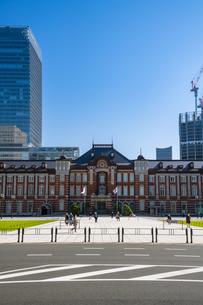 東京駅丸の内駅舎の写真素材 [FYI04778820]