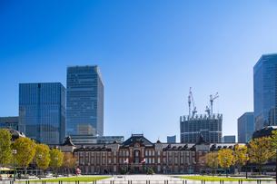 東京駅丸の内駅舎の写真素材 [FYI04778824]