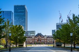 東京駅丸の内駅舎の写真素材 [FYI04778831]