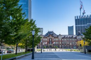 東京駅丸の内駅舎の写真素材 [FYI04778837]