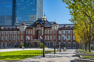 東京駅丸の内駅舎の写真素材 [FYI04778838]