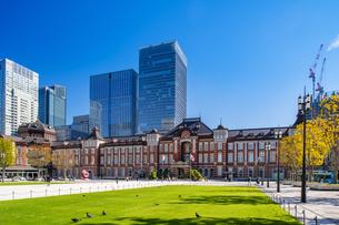 東京駅丸の内駅舎の写真素材 [FYI04778843]