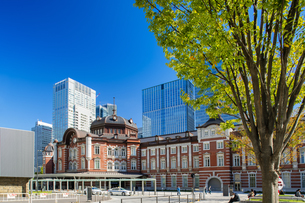 東京駅丸の内駅舎の写真素材 [FYI04778853]