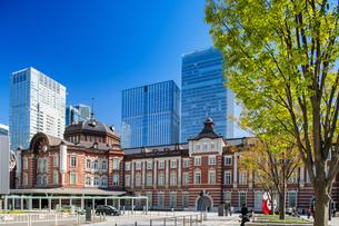 東京駅丸の内駅舎の写真素材 [FYI04778856]