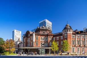 東京駅丸の内駅舎の写真素材 [FYI04778857]