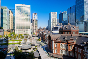 東京駅丸の内駅舎の写真素材 [FYI04778866]