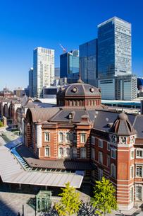 東京駅丸の内駅舎の写真素材 [FYI04778873]