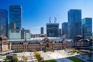 東京駅丸の内駅舎の写真素材 [FYI04778879]