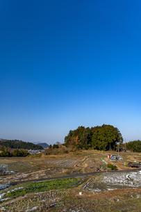 明日香村大原の里の写真素材 [FYI04779082]