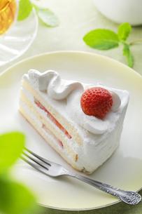横浜発祥 ショートケーキの写真素材 [FYI04779174]
