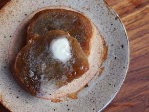 かんころ餅のバター焼きの写真素材 [FYI04779180]
