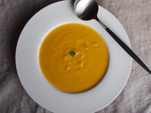 南瓜のスープの写真素材 [FYI04779283]