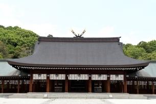 橿原神宮,境内の内拝殿の写真素材 [FYI04779586]