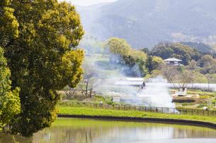 奈良県明日香村の風景の写真素材 [FYI04779951]