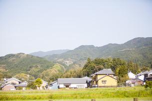奈良県明日香村の風景の写真素材 [FYI04779987]