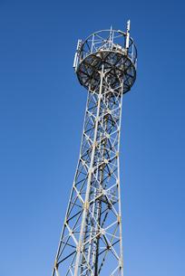携帯電話電波塔の写真素材 [FYI04780497]