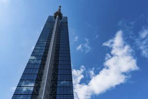 青空と福岡タワーの写真素材 [FYI04780614]