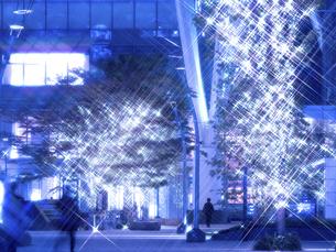 東京ミッドタウンのクリスマスイルミネーションの写真素材 [FYI04780823]