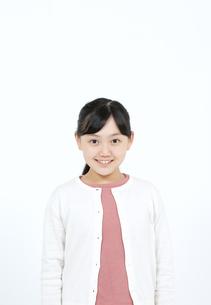 笑顔の女の子の写真素材 [FYI04780841]