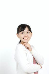 笑顔の女の子の写真素材 [FYI04780844]