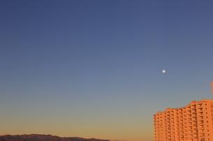 満月の空の写真素材 [FYI04781282]