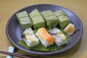 柿の葉寿司の写真素材 [FYI04781353]
