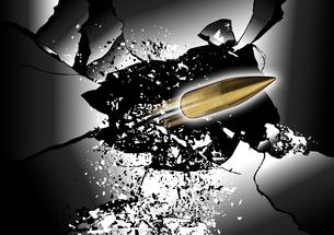 破片と弾丸のイラスト素材 [FYI04781759]