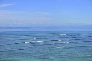 ワイキキビーチ空撮の写真素材 [FYI04781912]