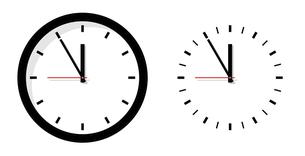 時計アイコンイラストのイラスト素材 [FYI04782322]