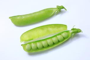 エンドウ豆の写真素材 [FYI04782401]