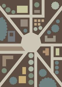 地図 デフォルメ イラストのイラスト素材 [FYI04782850]