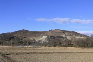 山の採石場の写真素材 [FYI04782954]
